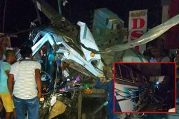 Bus accident in Marawila