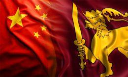 China Sri Lanka flags