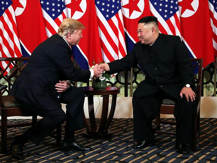 Donald Trump met Kim Jong Un in Vietnam
