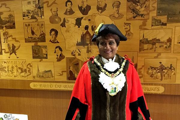 Harrow Mayor Kareema Marikar