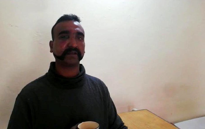 Indian pilot Wing Commander Abhi Nandan captured by Pakistan