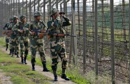 India's border security force BSF soldiers