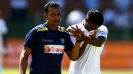 Lasith Embuldeniya was injured