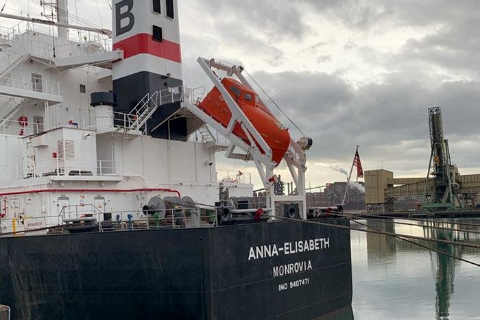 Anna Elisabeth Monrovia ship