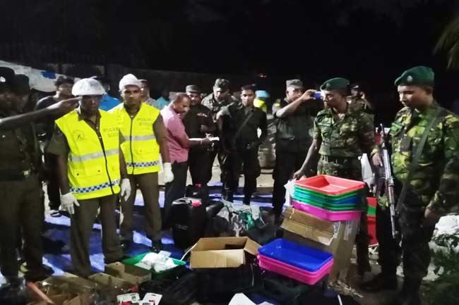 Blast in Kalmunai Sri Lanka