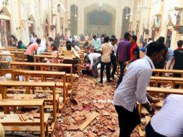 Explosion at Katana Katuwapitiya church