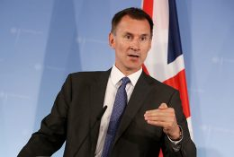 Jeremy Hunt - UK Foreign Secretary