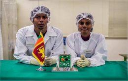 Makers of Sri Lanka's first satellite Ravana 1