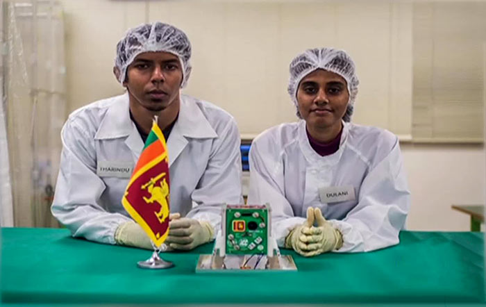 Makers of Sri Lanka's first satellite Ravana 1
