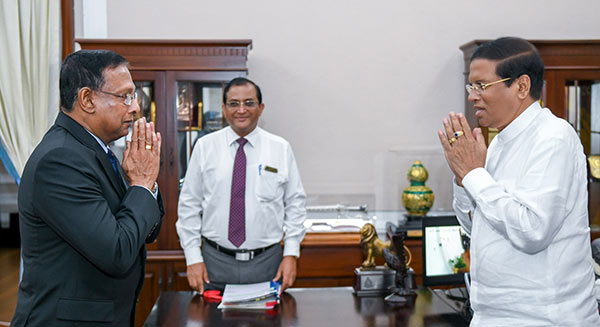 Shantha Kottegoda - New Defence Secretary of Sri Lanka