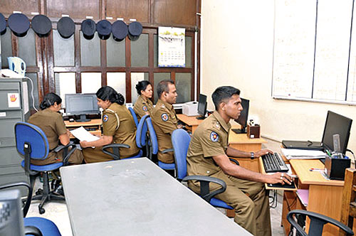 Sri Lanka Police information technology staff