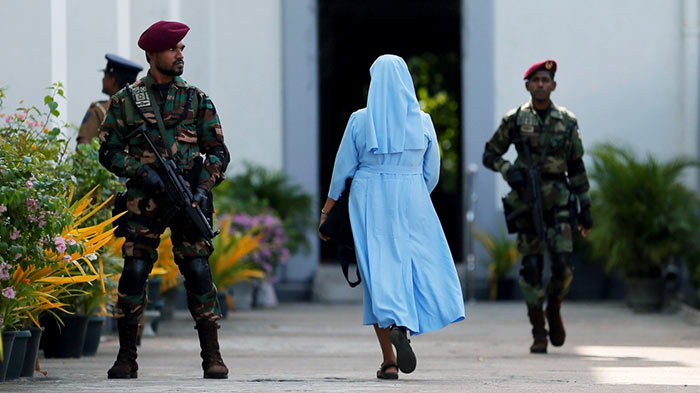 Churches under tight security in Sri Lanka