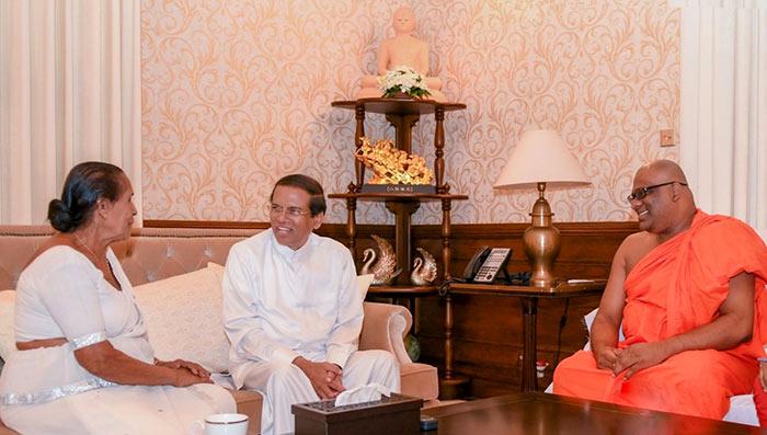 Gnanasara thera thanks President Maithripala following release