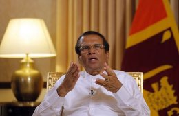 Former Sri Lanka President Maithripala Sirisena