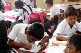 School children in Sri Lanka