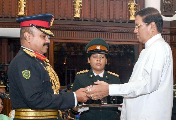 Sri Lanka President presents Vishishta Seva Vibhushana medals