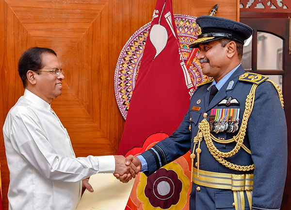 Sumangala Dias new Air Force Commander in Sri Lanka