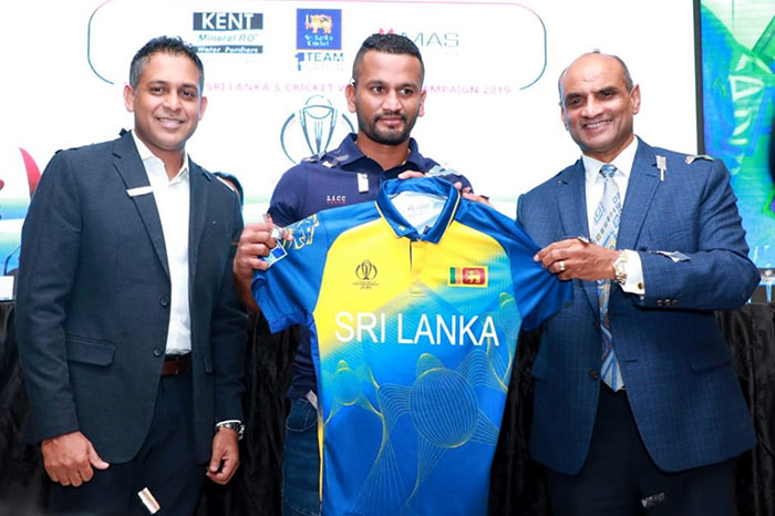 The Sri Lanka Cricket jersey made out of recycled ocean plastic