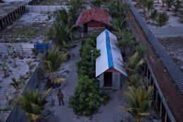 Training camp of islamist militants in Kattankudy near Batticaloa Sri Lanka