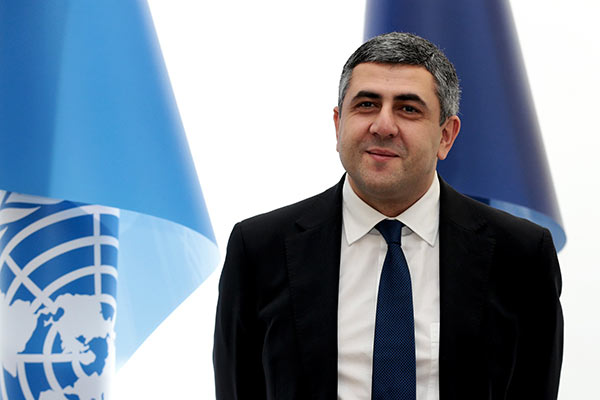 Zurab Pololikashvili - Secretary General of the United Nation's World Tourism Organization