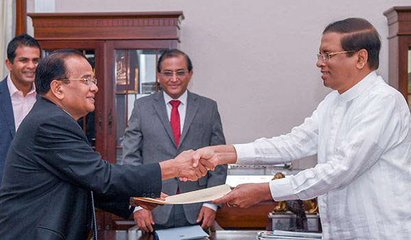 A.J.M. Muzammil appointed Governor of western province