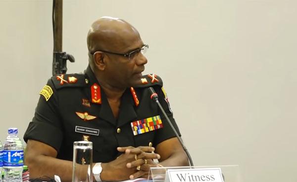 Mahesh Senanayake - Sri Lanka Army Chief