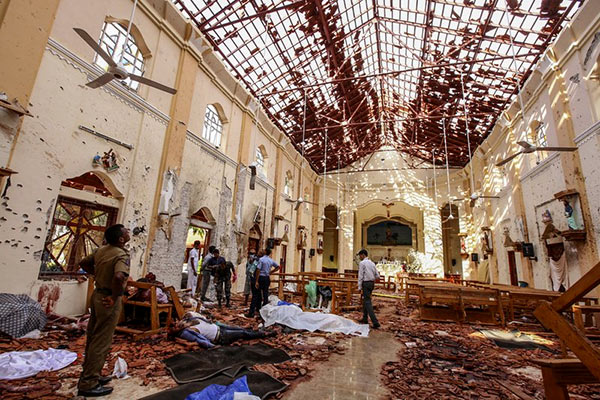 Easter Sunday attacks in Sri Lanka