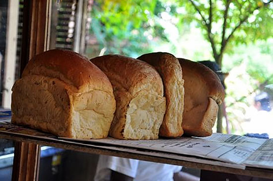 Bread price in Sri Lanka