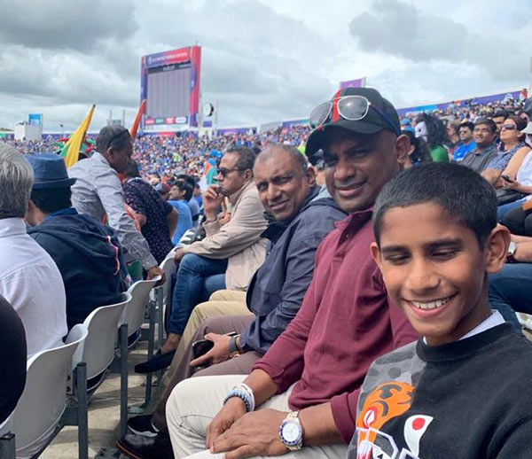 Sanath Jayasuriya and Aravinda De Silva
