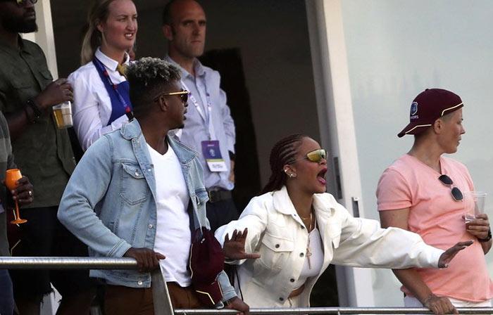 Singer Rihanna at Cricket world cup 2019