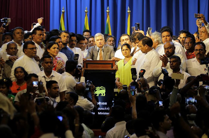 Sri Lankan government defeats no-confidence motion