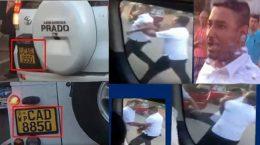 VIP angry officials assault motorist