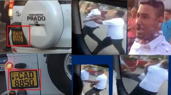 VIP angry officials assault motorist