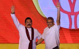 Mahinda Rajapaksa and Gotabaya Rajapaksa