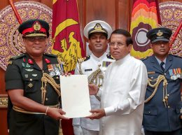 Shavendra Silva appointed new army commander of Sri Lanka
