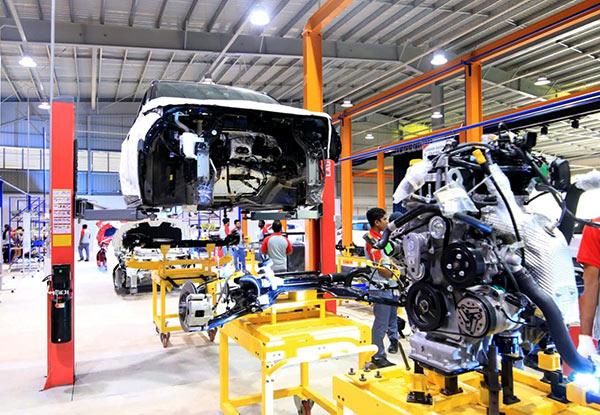 Sri Lanka's first vehicle assembly plant in Mathugama