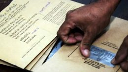 Postal vote in Sri Lanka