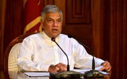 Ranil Wickremesinghe - Prime Minister of Sri Lanka
