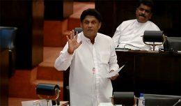 Sajith Premadasa at Parliament of Sri Lanka