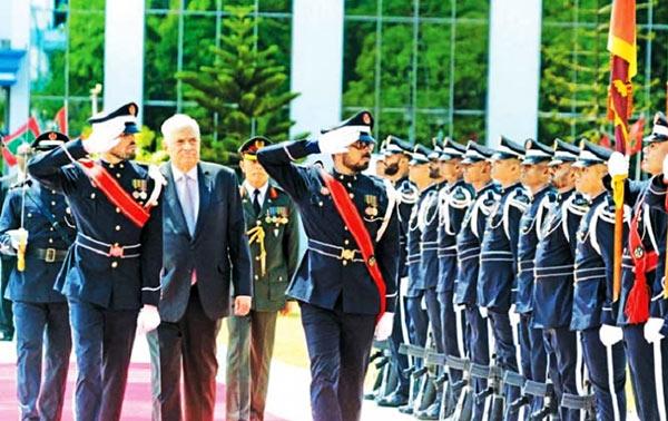Sri Lanka Prime Minister Ranil Wickremesinghe in Maldives