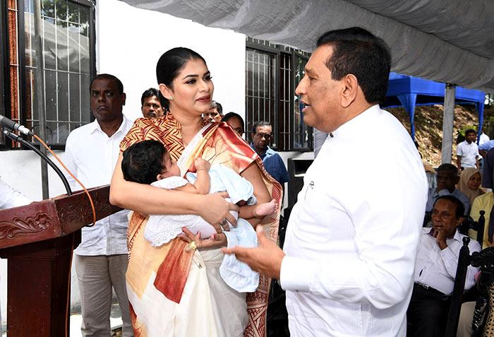 Hirunika Premachandra with Rajitha Senaratne