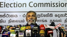 Mahinda Deshapriya - Elections chief of Sri Lanka