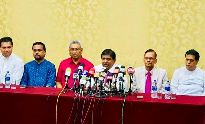 Wijeyadasa Rajapakshe to support Gotabaya Rajapaksa