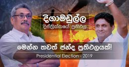 Digamadulla district results of Presidential Election 2019 in Sri Lanka