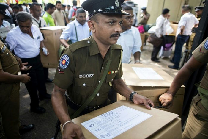 Election duty on Sri Lanka election