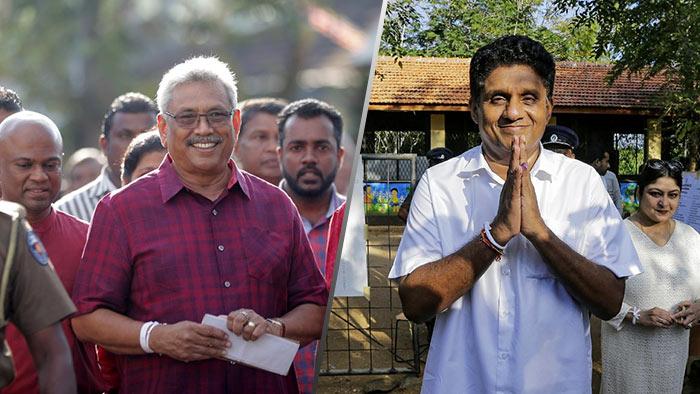 Gotabaya Rajapaksa and Sajith Premadasa