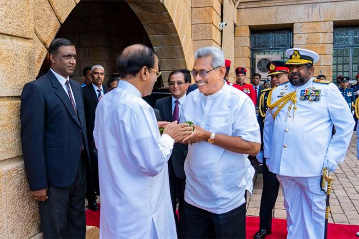 Gotabaya Rajapaksa assumes duties as President of Sri Lanka