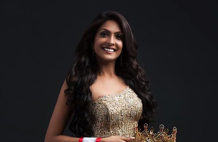 Caroline Jurie Mrs. World from Sri Lanka