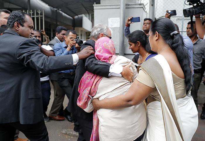 Sri Lankan Swiss embassy worker Garnier Banister Francis