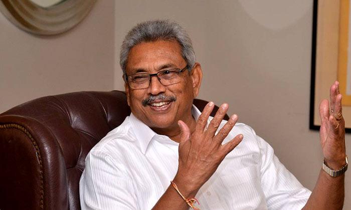 Gotabaya Rajapaksa - President of Sri Lanka